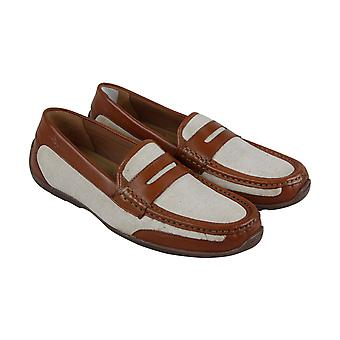 Tommy Bahama Taza Fronds TB7F00151 Mens Brown Casual Slip On Loafers Shoes