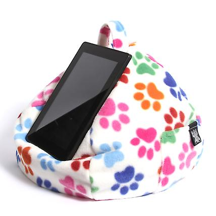 iBeani iPad, Tablet & eReader Bean Bag Stand / Cushion - Paws