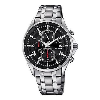 Festina - men's watch - F6853/4 - timeless chronograph - sports