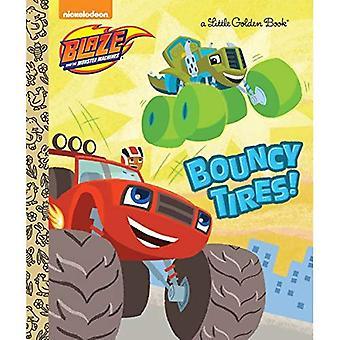 Bouncy banden! (Blaze en de Monster-Machines) (Gouden boekje)