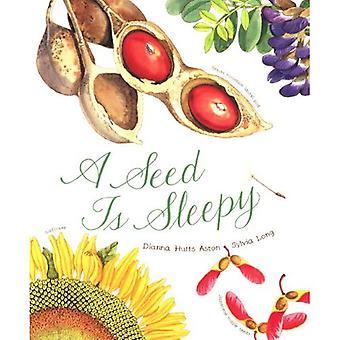 Ein Samenkorn ist schläfrig