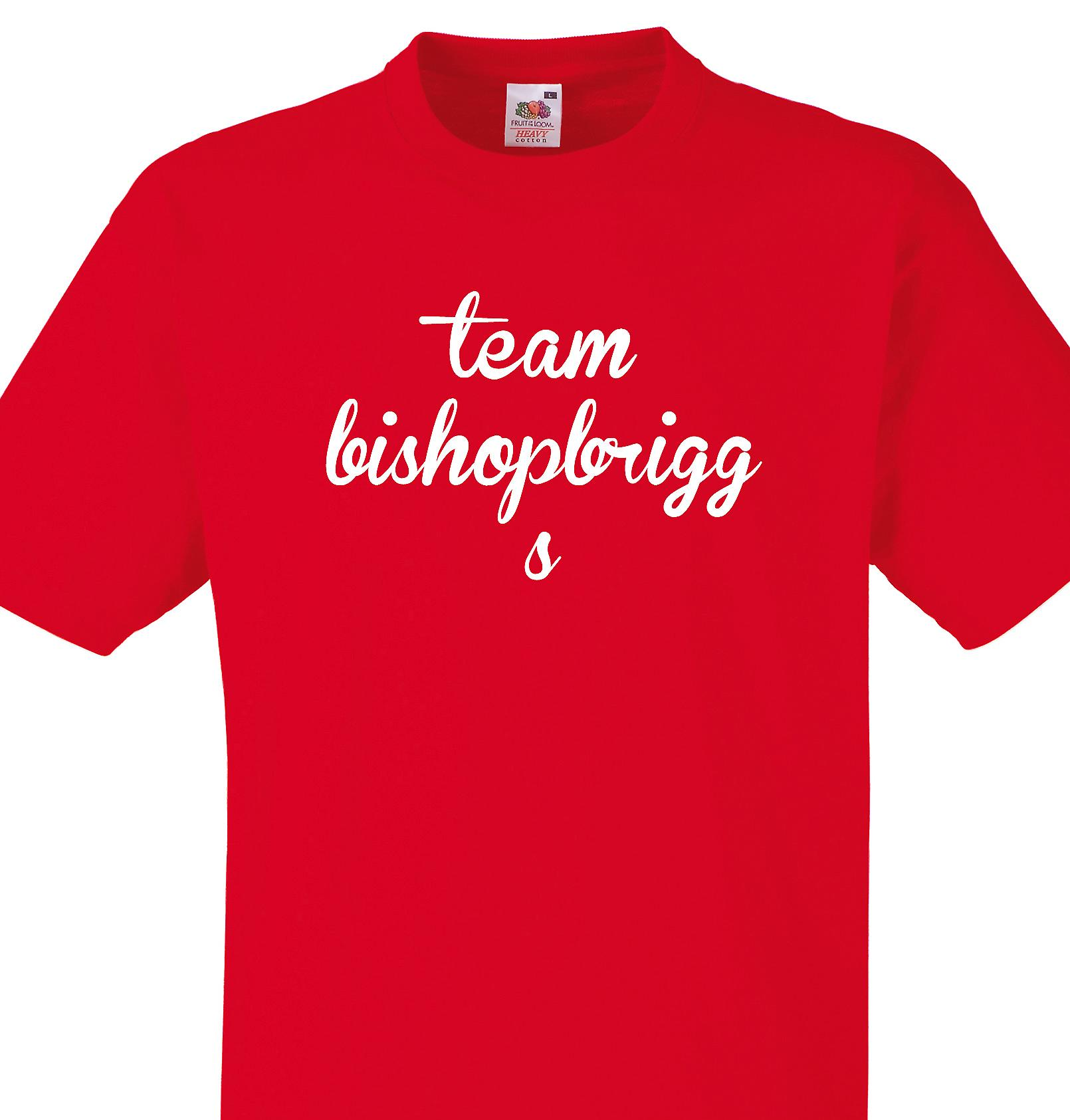 Team Bishopbriggs Red T shirt