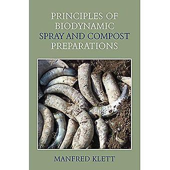 Principes de la biodynamique Spray et préparations du Compost