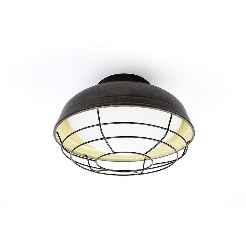 2 Light Outdoor Ceiling Light marron Ip44