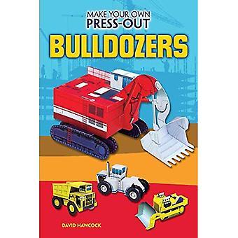 Gör din egen Press-Out Bulldozers