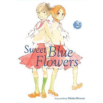 Söt blå blommor, Vol. 2 (blå blommor)
