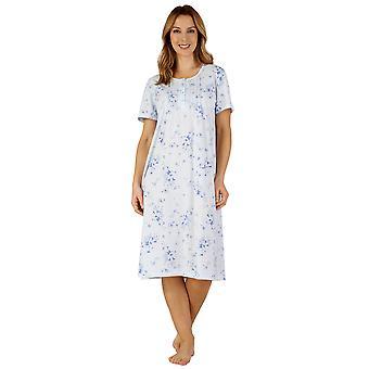 Slenderella ND3122 Women's Jersey Night Gown Loungewear Nightdress