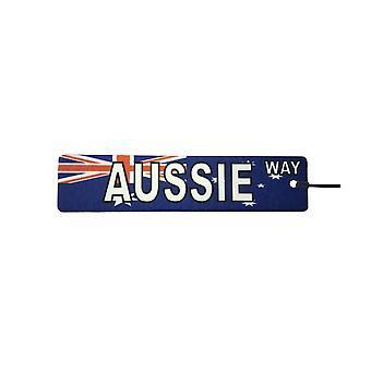 Aussie sposób ulica znak samochodowa zawieszka zapachowa