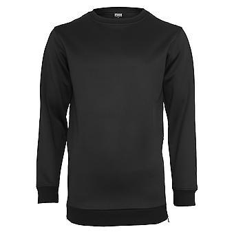 Urban Classics Herren Pullover Side-Zip Neopren