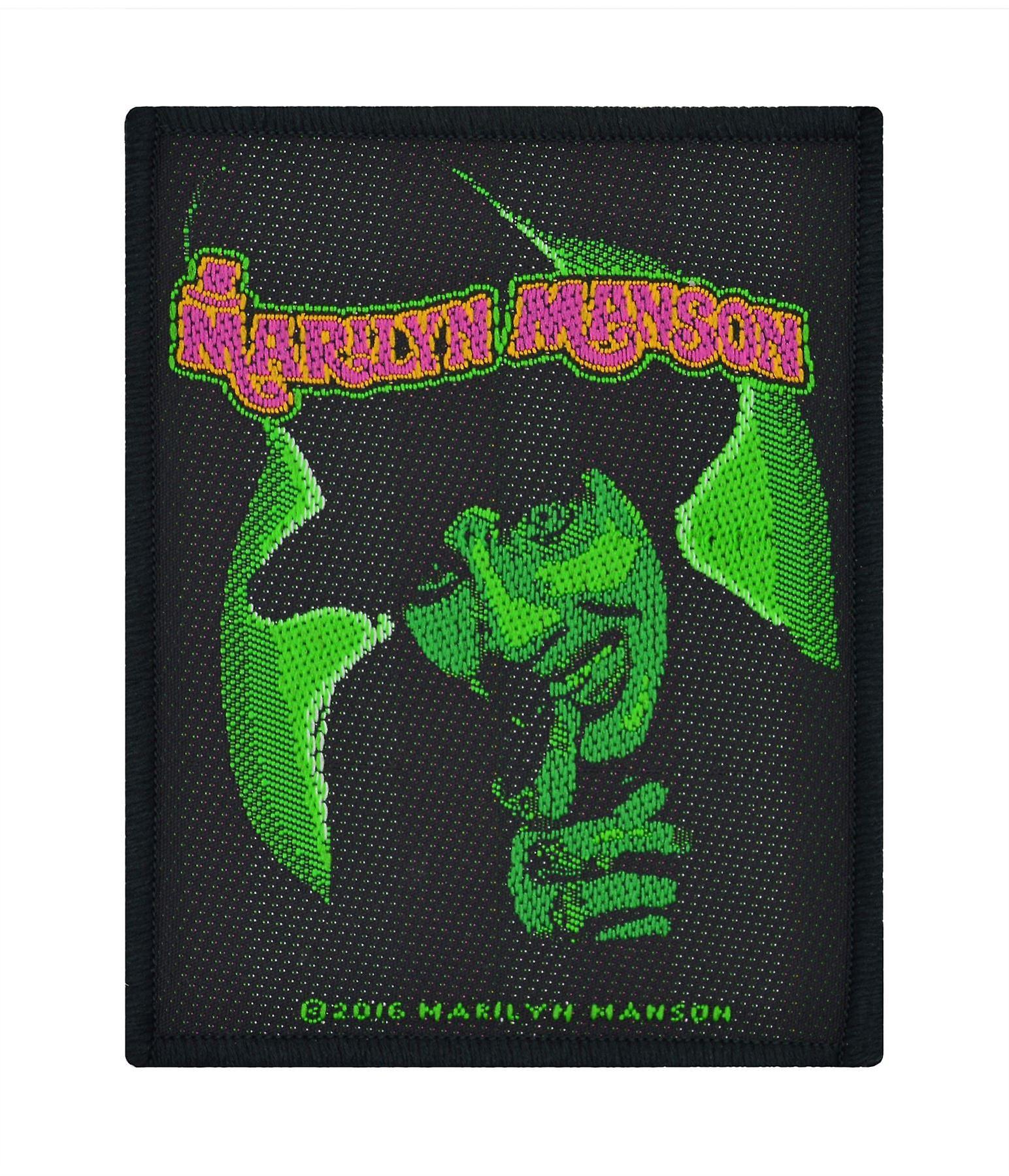 Marilyn Manson Smells Like Children Woven Patch
