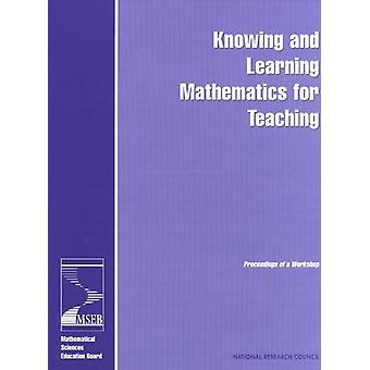 Tietäen ja oppimista matematiikan opetus - menettelyn teosten