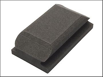 Flexipads World Class Hand Sanding Block Shaped Black 70 x 125mm