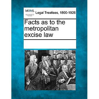 Facts as to the metropolitan excise law by Multiple Contributors & See Notes