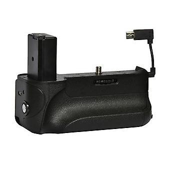 Dot.Foto batterigreb: Designet til Sony Alpha a6000, arbejder a6300 med NP-FW50 batteri