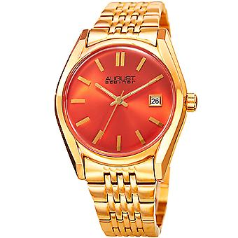 August Steiner Women's AS8235YGOR Quartz Watch with Stainless-Steel Strap