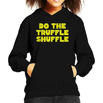 Do The Truffle Shuffle The Goonies Neon Kid's Hooded Sweatshirt