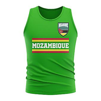 Mozambique Core Football Country Sleeveless Tee (Green)