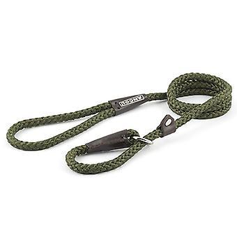 Cuerda de nylon antideslizante verde plomo