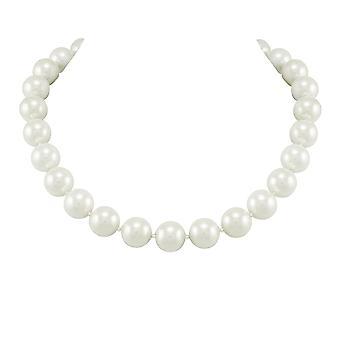 Wieczne kolekcja La Perla biały South Sea Shell naszyjnik z pereł