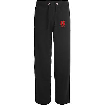 Infantry Veteran - Licensed British Army Embroidered Open Hem Sweatpants / Jogging Bottoms
