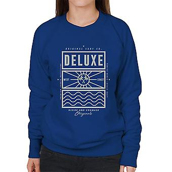 Divide & Conquer Deluxe Surf Co Women's Sweatshirt