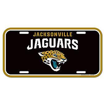Wincraft NFL Kennzeichenschild - Jacksonville Jaguars