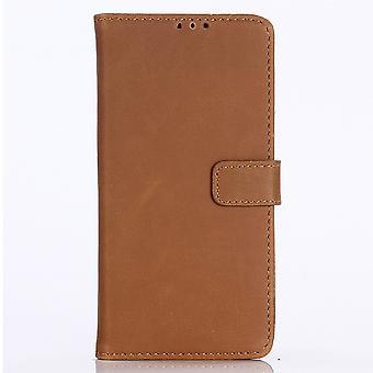 Samsung Galaxy Note 10 Retro Brieftasche Case-Brown