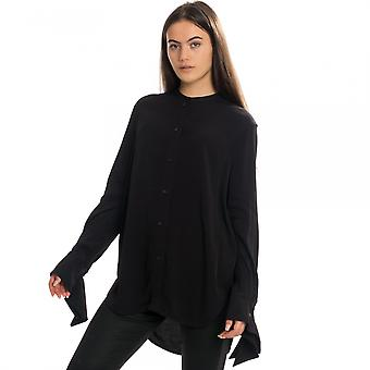 Calvin Klein Calvin Klein draped ranneke pitkähihainen naisten pusero