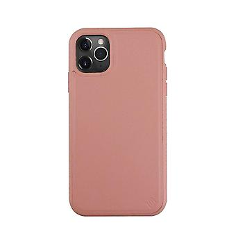 Eco Leather iPhone 11 Pro Case Biodegradable Back Shell - Pink Grapefruit