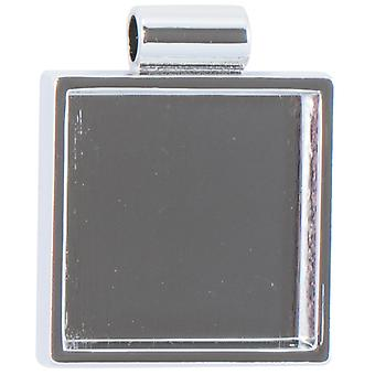 Lisa Pavelka Silver Plated Bezel 1 Pkg Square Lp2714 6