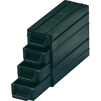 ESD small parts container (L x W x H) 120 x 40 x 20 mm BJZ