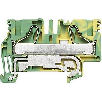 Weidmüller 1896210000 Terminal Block 12.1mm 800V Green-yellow