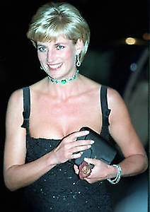 Princess Diana (black dress) fridge magnet   (se)