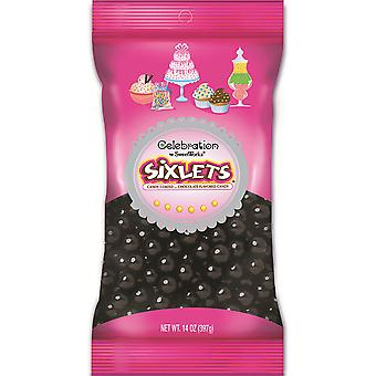 Celebrations By Sweetworks Sixlets(R) 14oz-Black CSX95051