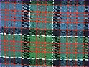 MacDonald of Clanranald, Ancient - Pure Wool Tartan