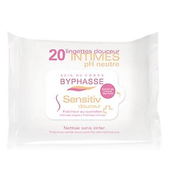 Byphasse Intimate Wipes 20 Units (Igiene E Salute , Igiene Intima , Salviette)