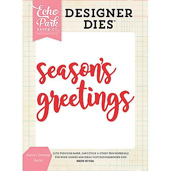 Echo Park Dies-Season's Greetings Word EPDIE595