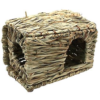 HAPPY PET GRASSY HIDEAWAY VERSTOPPLEK SMALL 31X27X18 CM
