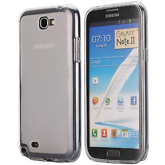 Soft TPU rubber cover for Samsung Galaxy Note 2 (transparent)