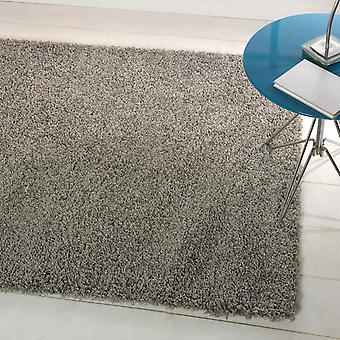 Cariboo Shaggy Rugs In Silver