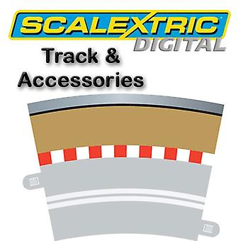 Scalextric Digital - Single Lane (R3 Curve border x 4)