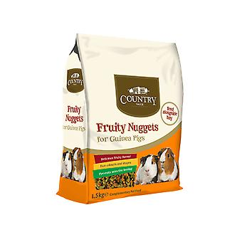 Country Value Guinea Pig Nuggets 1.5kg (Pack of 4)