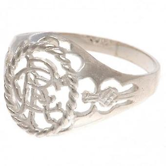 Rangers Sterling Silver Ring Small