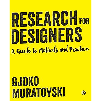 Research for Designers (Paperback) by Muratovski Gjoko