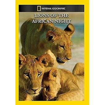 Lions of the African Night [DVD] USA import