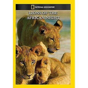Importación leones de los E.e.u.u. de la noche africana [DVD]