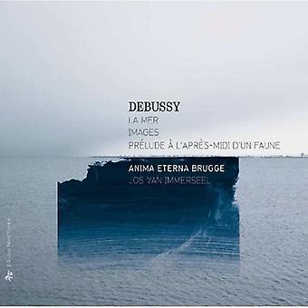 C. Debussy - Debussy: La Mer; Billeder; Pr Lude L'Apr S-Midi D'Un Faune [CD] USA importerer