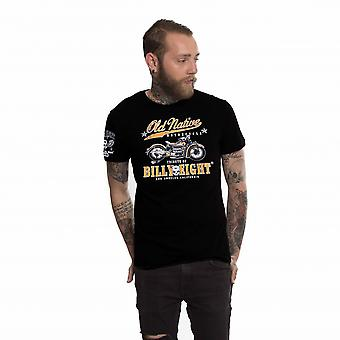 Billy Eight- OLD NATIVE - Mens T-Shirt - Black