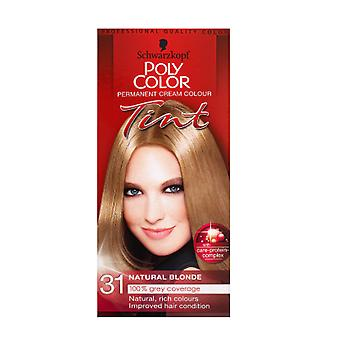 Schwarzkopf Poly Color Tint 31 Natural Blonde