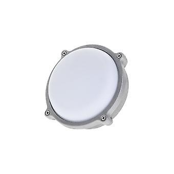 Timeguard Round Graphite Grey 7W LED Outdoor Bulkhead